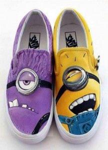 chaussure moi moche et mechant ♥