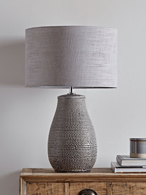 Textured Grey Lamp Table Lamps Uk Grey Lamp Table Lamps For Bedroom