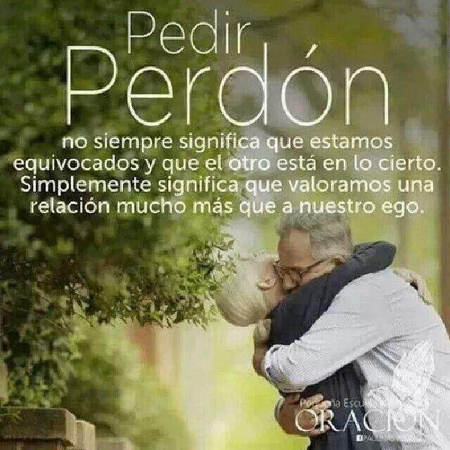 Lo Mejor El Perdon..