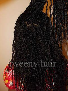 Tweeny Hair: Many Mini Twists