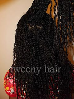 Tweeny Hair: Many Mini Twists