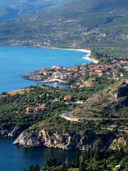 Kardamyli in Peloponnese