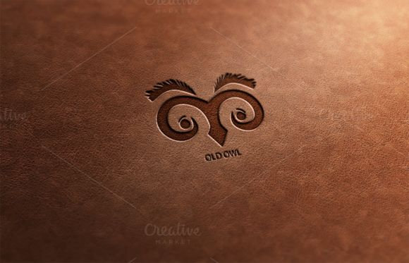 Old Owl Logo Design by Florin Chitic on Creative Market