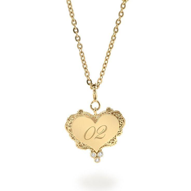 Tulola Engraved Love Pendant Gold Dip (Custom Order) http://www.shoptulola.com/collections/engraved-love-pendant-custom-order.html #SophieParis