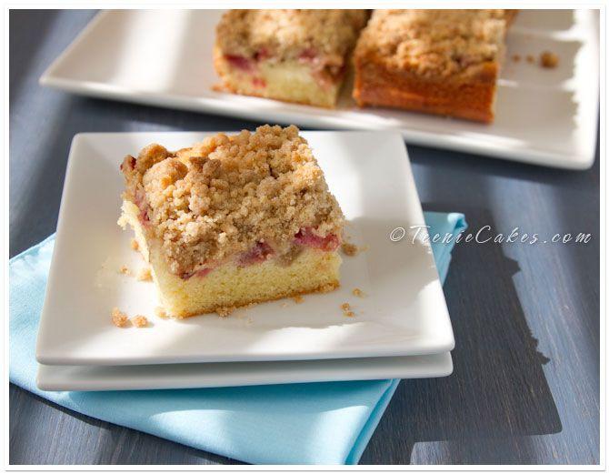 Stevia Cake Recipes Uk: Strawberry & Rhubarb Crumb Bars ·