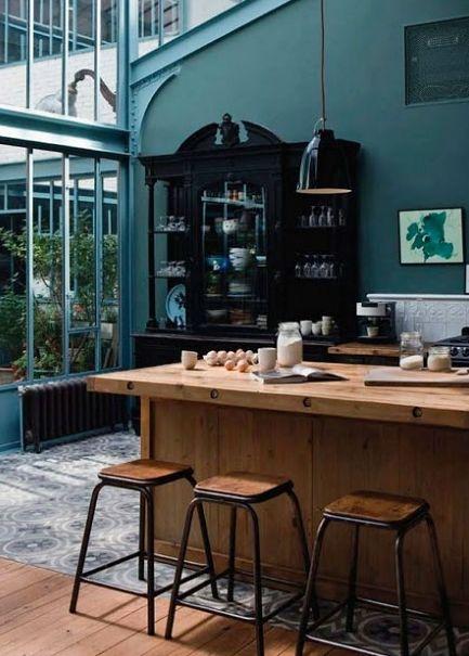53 best Bleu canard en déco images on Pinterest Living room