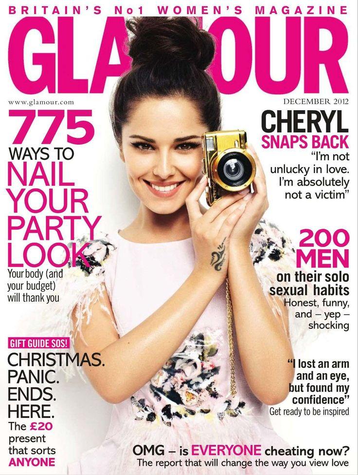 Magazine Cover Girls: Glamour Magazine Cover [United Kingdom