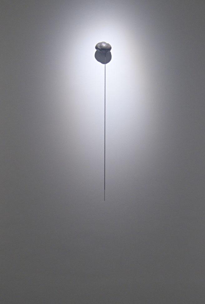 Nube. (bronce con pátina de plata)  Sala de arte bronzo