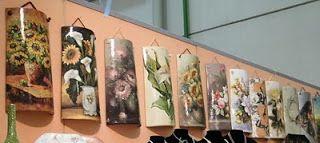 Tutorial de Artesanías: Tejas decoradas