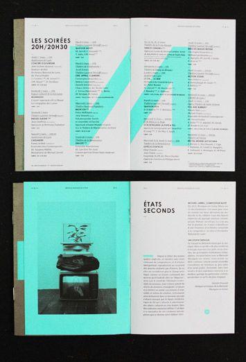Couleur magnifique !  Les Graphiquants – Biennale Musique en Scene 2012: identity & collateral design