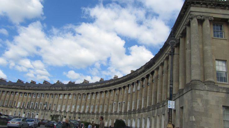 The Roman Crescent. bath, UK. 2010