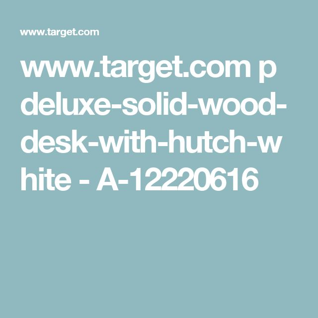 1000 Ideas About Solid Wood Desk On Pinterest Executive