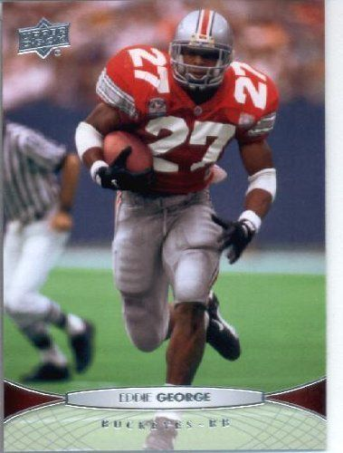 2012 Upper Deck #20 Eddie George - Ohio State Buckeyes (NFL Legends) (Football Cards) by Upper Deck. $0.88. 2012 Upper Deck #20 Eddie George - Ohio State Buckeyes (NFL Legends) (Football Cards)