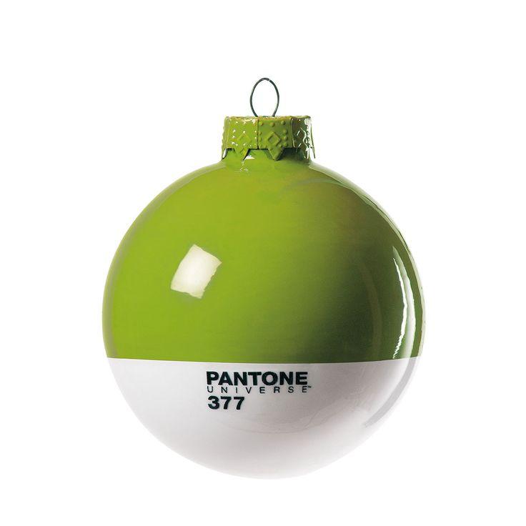 Lovethesign - Set di 4 palle vetro Pantone® verde