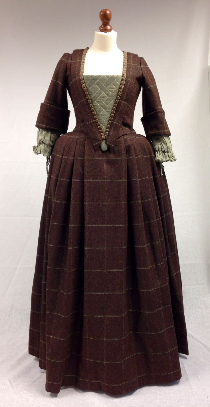 Costume Designer TERRY DRESBACH shares Letitia MacKenzie's red dress and other costumes from Outlander on Starz