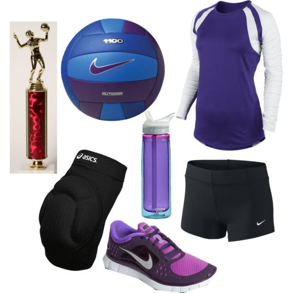 Purple volleyball - Love everything but the trophy. It seems a bit egotistical