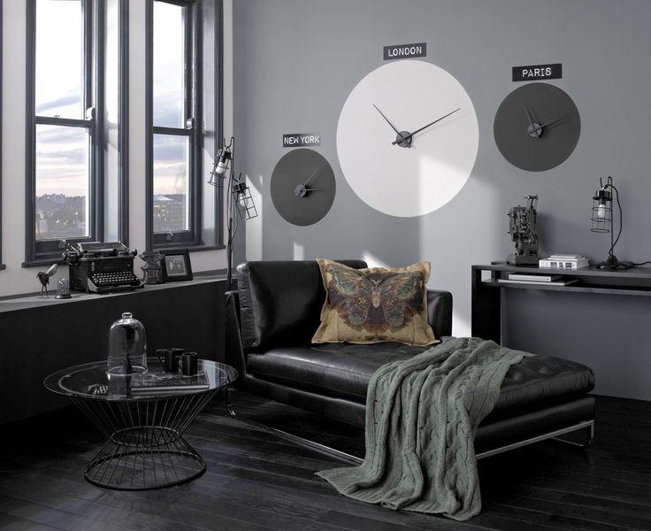 Dark Colours In Penthouse Apartment Colours Cloud Burst