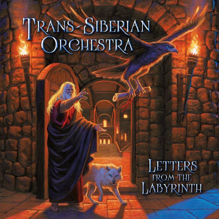 Trans-Siberian Orchestra [Letters from the Labyrinth]. 2015.  Artwork : Greg Hildebrandt https://www.spiderwebart.com/