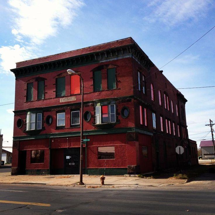 Abandoned Tyomies Society Publishers Building, Superior