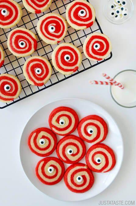 Monster Halloween Cookies: Monster Eye Halloween Cookies Recipe