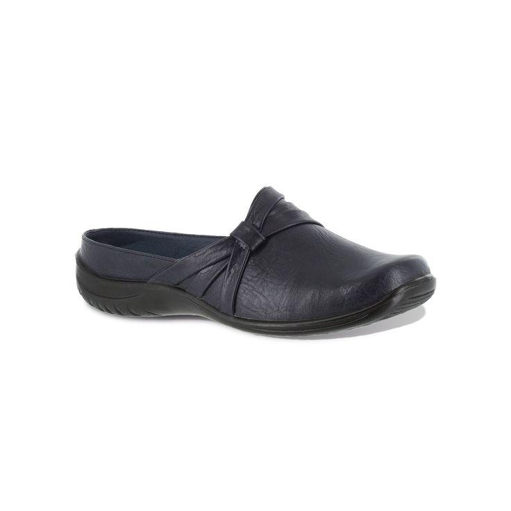 Easy Street Ease Comfort Women's Clogs, Size: medium (8.5), Blue (Navy)