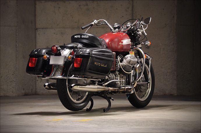 1973 Moto Guzzi GT850 - Pipeburn - Purveyors of Classic Motorcycles, Cafe Racers & Custom motorbikes