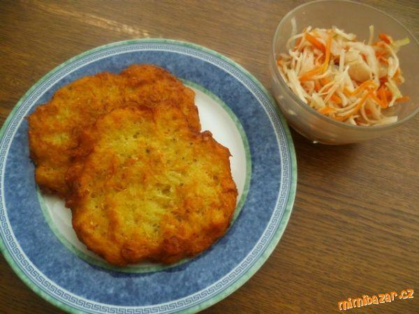 Bramboráčky s mrkví a vločkami