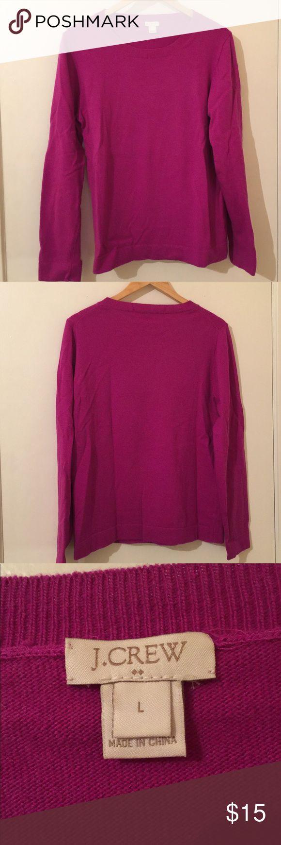 J Crew Purple Sweater Purple J Crew Teddie Sweater. EUC, size Large. J. Crew Factory Sweaters
