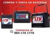 http://www.amarillasinternet.com/CompraVentaBateriasCancun/ Compra y venta de baterías en Cancún, batería VOLTAR, LTH y GONHER cuenta con auxilio vial, grúa en caso de emergencia, paso de corriente, cerrajero automotriz, abasto de gasolina y cambio de llanta. Compramos tu batería usada.