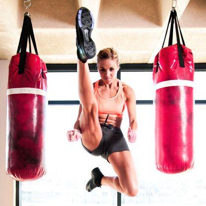 Kickboxing Training and Ballet Dance Workout: Tendu Port de Bras - Kickboxing Ballet: The 4-in-1 Workout Plan - Shape Magazine - Page 2