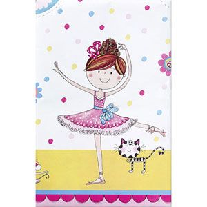 Q50888 - Rachel Ellen Ballerina Tablecover Please note: approx. 14 day delivery time. www.facebook.com/popitinaboxbusiness
