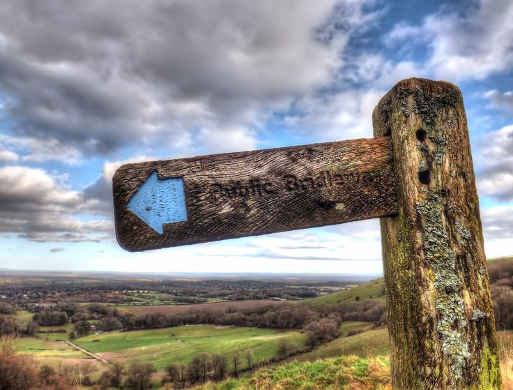 Chantry Hill, West Sussex. Photos from the South Downs Way in Southern England. #sussex #outdoors #england http://www.southdownswalking.com/storrington-chanctonbury-ring-walk/