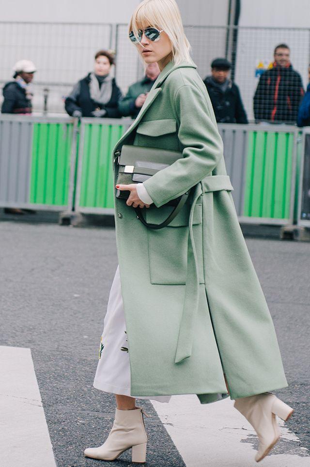 Неделя моды в Париже, осень-зима 2016: street style. Часть 7 (фото 2)