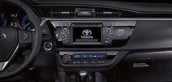 2014 Toyota Corolla - interior 2... Love it