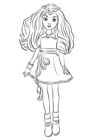 Vibrant image intended for descendants coloring pages printable