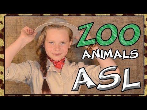 Gebarentaal voor dierentuindieren (Learn Zoo Animals | American Sign Language