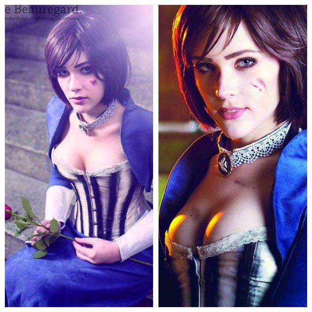 Eve Beauregard as Elizabeth (Bioshock Infinite Cosplay)