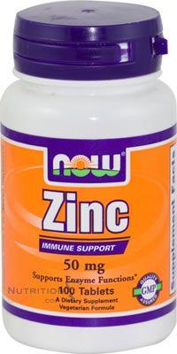 Zinc Gluconate 50mg