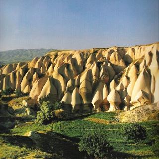 Goreme valley in Turkey