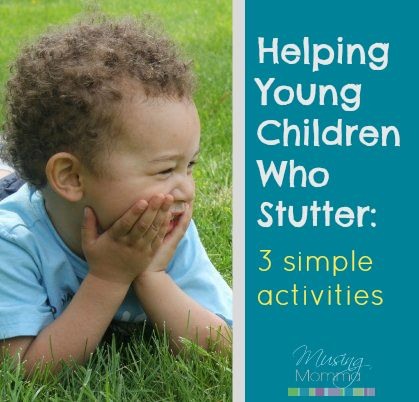 Musing Momma: Helping Your Toddler or Preschooler Who Stutters