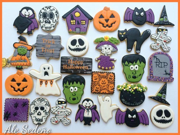Halloween set 2015   Cookie Connection