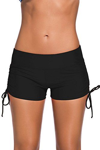 ZKESS Women's Tankini Swim Bottom Beach Short Board Shorts Plus Size S-XXXL - http://www.darrenblogs.com/2016/08/zkess-womens-tankini-swim-bottom-beach-short-board-shorts-plus-size-s-xxxl/