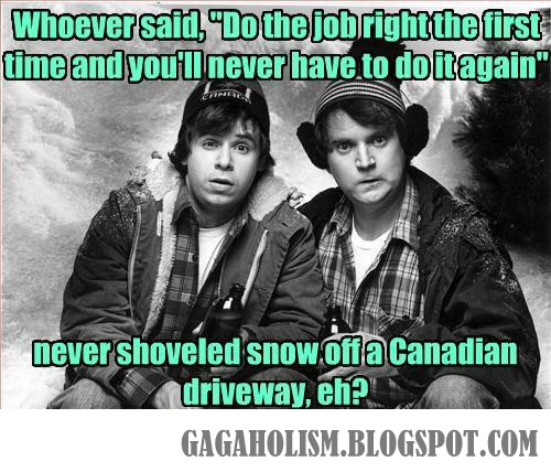 GAGAHOLISM: Canadian Problems