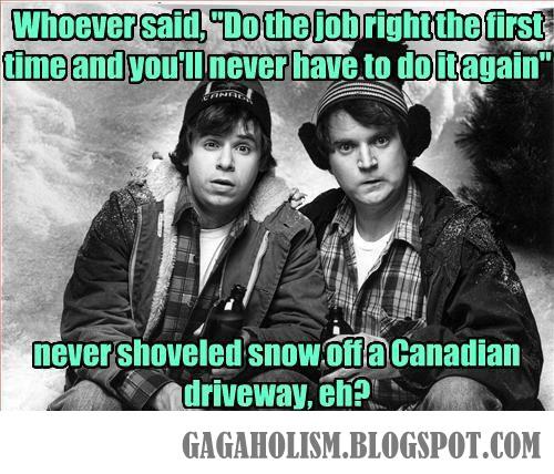 GAGAHOLISM: Canadian Problems