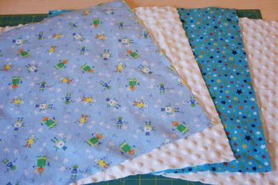 Small Baby Security Blanket - DIY Tutorial | One Crafty Home