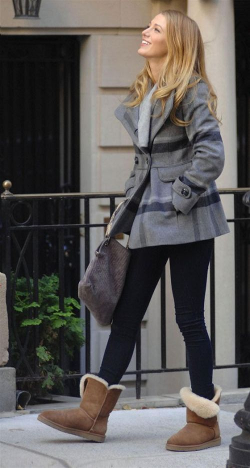 616d5a3fc4d 10 Celebrities Get Comfy in UGGs   Cuteness   Fashion, Ugg winter ...