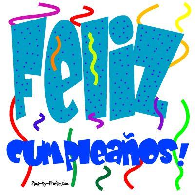 Feliz Cumpleaños …