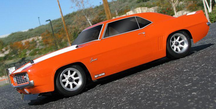 1/10 EP R/C HPI RTR Sprint 2 Sport - 1969 Chevrolet Camaro