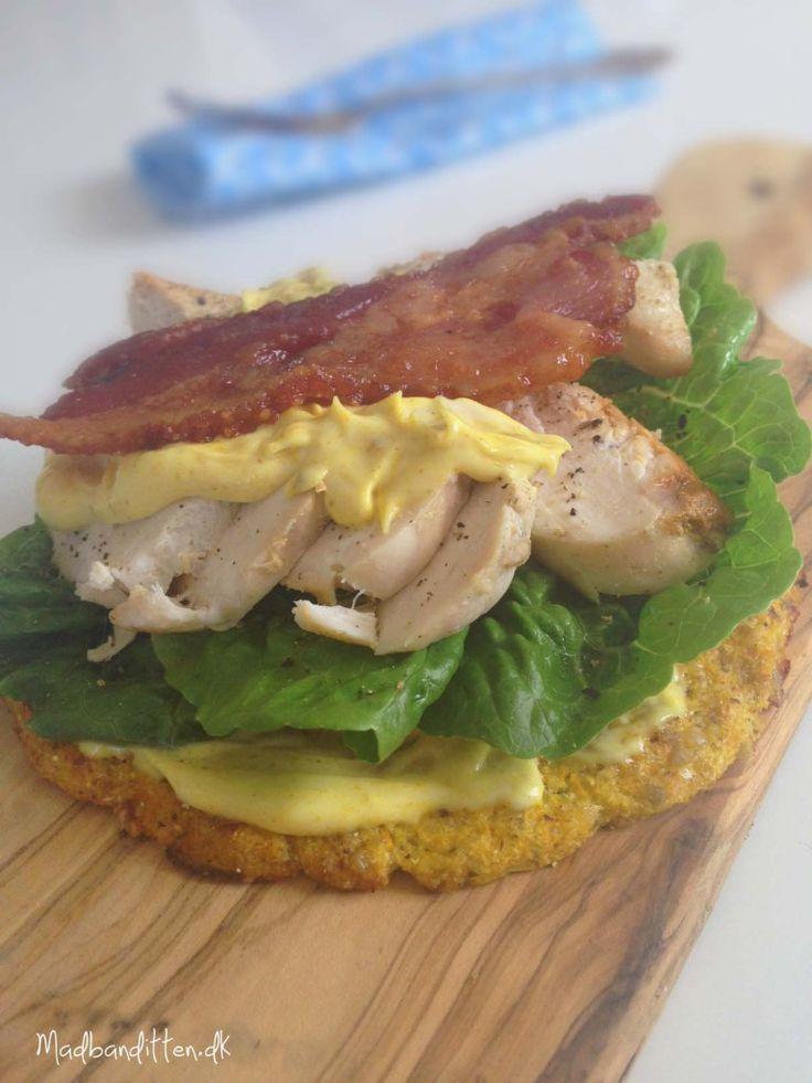 LCHF-club sandwich