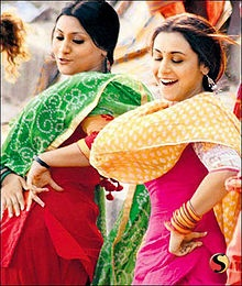 Laaga Chunari Mein Daag--2007  Hot, hot, Abhishek Bachchan does not have a large enough role as the fella willing to chance a slew of VDs to wed a reluctant call girl.